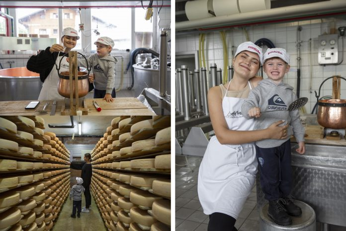 verbier, cheese making atelier, fromage, switzerland, suisse, verbier infinite playground pass